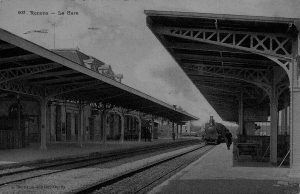 Gare de Renens vers 1910