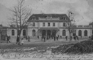 Gare de Renens Bât.voyageurs vers 1910