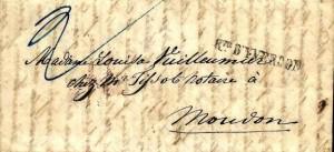 Rte d'Yverdon : 1847 de Yverdon à Moudon