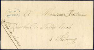 1854 Fetigny - Fribourg Rte de Payerne