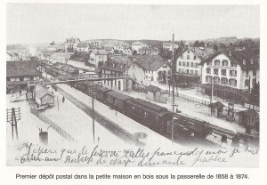 1903 Gare de Renens VD