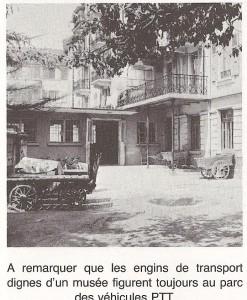 Annexe construit vers 1939 de la Poste à Renens