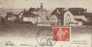 1989 Cachet K touristique de Renens.