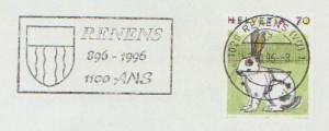 1996 Flamme-réclame de Renens