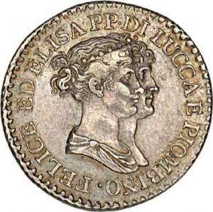1806 monnaie de Lucca