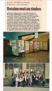2002 Un concours de dessin a fortement animé cette Expo-Bourse