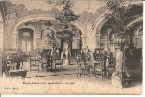 CP Le hall du Caux Palace ~1905