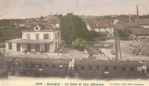 1920 Gare de Bussigny