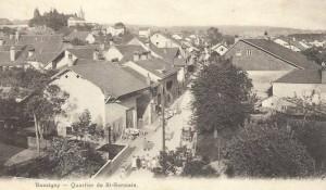 Le quartier Bussigny - St-Germain ~1916-1920 , photographe E.Steiner