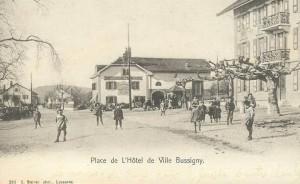1910 Bussigny Place de l'Hôtel de Ville