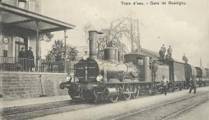 1920 Train d'eau à Bussigny