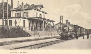 ~1910 Train marchandise en gare de Bussigny