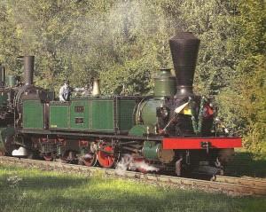 2009 Locomotive historique des SCB type Ec 2/5 28 Genf , fabriqué à Esslingen