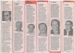 """Le journal 24heures a publié en 1985 une rubrique """"les amis de nos amis"""", dont certains sont ou étaient membres de la SPR."""