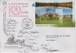 2014 Sortie SPR , visite de l'exposition au rang III à Saignellégier le 29.11.2014