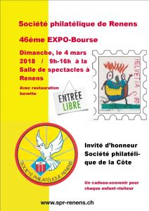 flyerA3 46ème Expo-Bourse Renens 2018