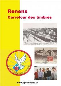 Plaquette de souvenir publiée pour les 50 ans de la Société Philathélique de Renens