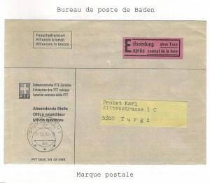 Express exempt de la taxe 1984