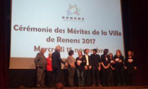 Laureats de mérite 2017 de la ville de Renens