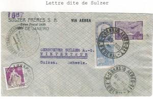 Lettre dite de Sulzer 1935