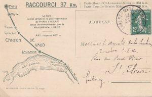 Coll. J-P. Jaccard / Le tunnel du Mont-d'Or raccourcit le trajet de 37 km