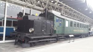 Musée des transports Lucerne Automotrice du train Régional Val-de-Travers