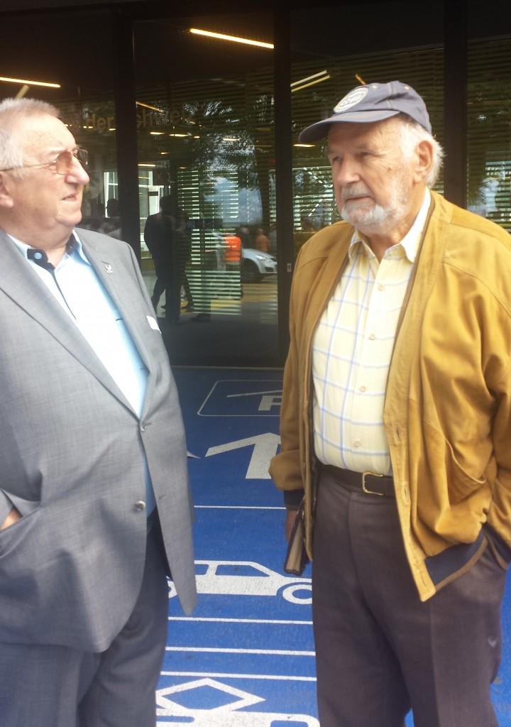 Pierre Mathez et Pierre Jaquenoud